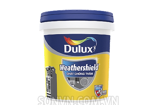 Ngoại thất Chống thấm Dulux Weathershield - Thùng 18L