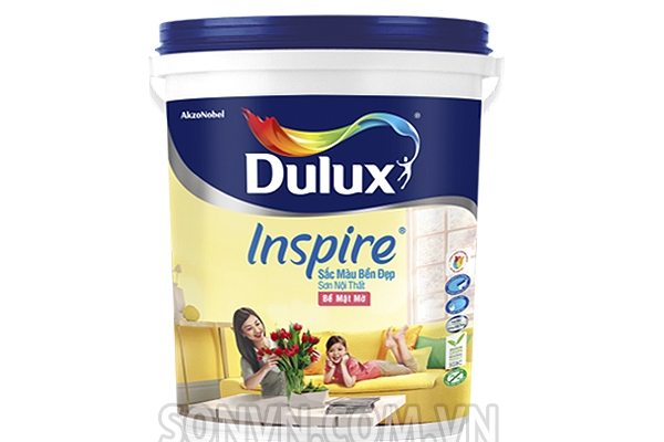 Nội thất Dulux Inspire Mờ - thùng 18L