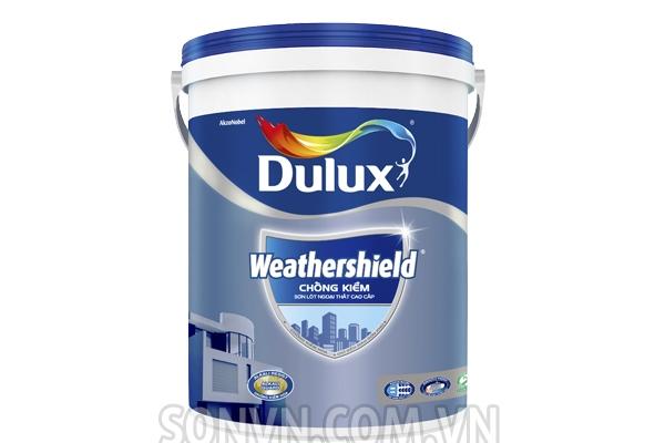 Ngoại thất Dulux Weathershield Sơn lót chống kiềm cao cấp - thùng 18L
