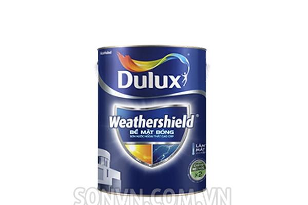 Ngoại thất Dulux Weathershield Bề Mặt Bóng - Lon 5L