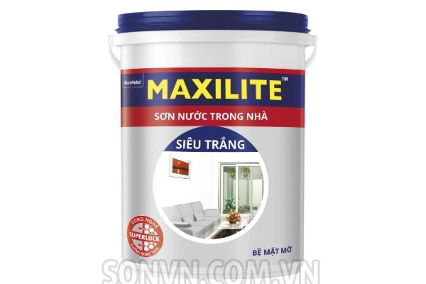 NỘI THẤT SƠN NƯỚC MAXILITE SIÊU TRẮNG - thùng 18L