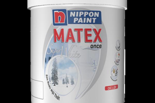 SƠN NỘI THẤT MATEX SUPER WHITE