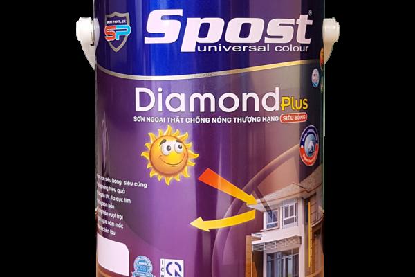 Sơn ngoại thất Spost Diamond Plus siêu bóng thượng hạng