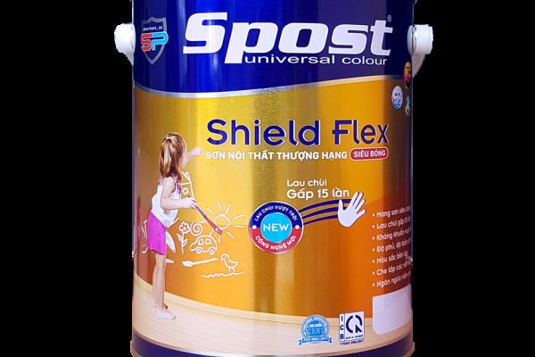 Sơn Spost nội thất thượng hạng siêu bóng Shield Flex