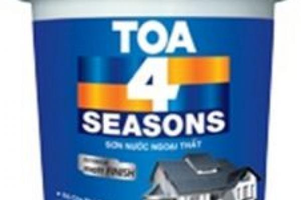 Sơn nước TOA 4 Seasons Ngoại thất