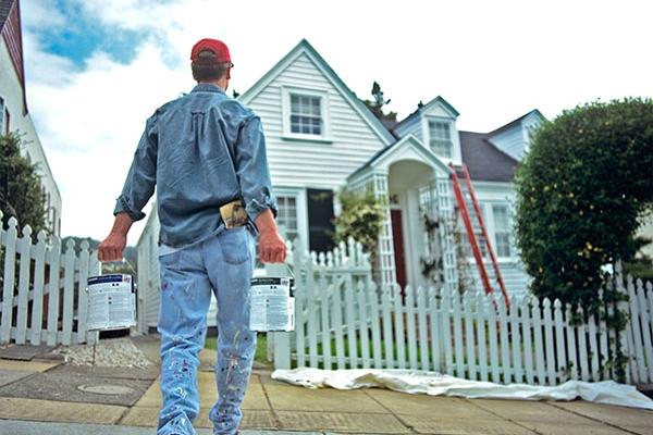 Hướng dẫn thi công sơn lại nhà cũ
