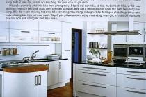 Phòng bếp đẹp theo phong thủy