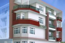 Mẫu nhà phố đẹp theo màu phong thủy