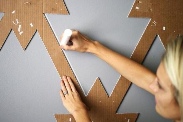 Sáng tạo trong sơn tường - các mẫu sơn phòng đẹp và lạ